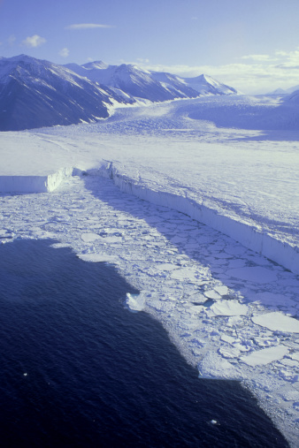 Admiralty Mountains「dugdale and murray glaciers: glacial tongue  admiralty mts., victoria land, antarctic」:スマホ壁紙(2)