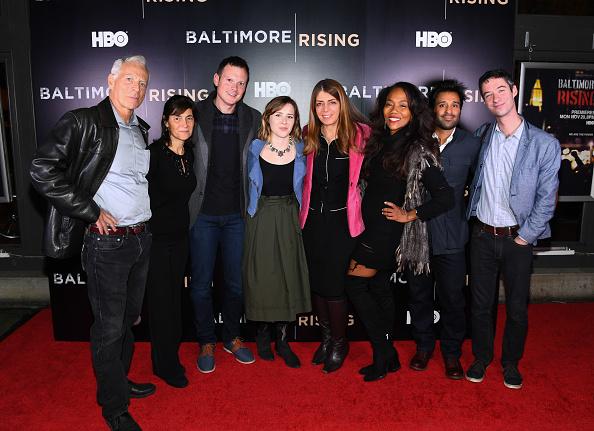 Sonja Sohn「Red Carpet Premiere of HBO Documentary Baltimore Rising」:写真・画像(7)[壁紙.com]