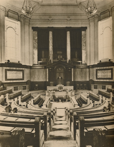 Greater London Council「Splendid Hall For The Deliberations Of The Members Of The London County Council」:写真・画像(2)[壁紙.com]