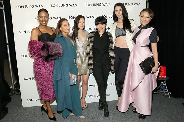 Adrienne Bailon「Son Jung Wan - Backstage - Fall 2016 New York Fashion Week: The Shows」:写真・画像(13)[壁紙.com]