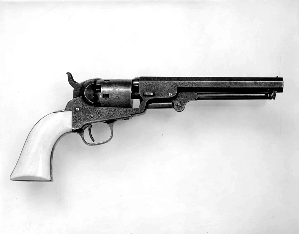 Model - Object「Colt Model 1849 Pocket Percussion Revolver」:写真・画像(12)[壁紙.com]