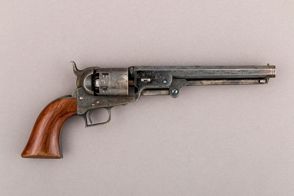 Model - Object「Colt Model 1851 Navy Percussion Revolver」:写真・画像(11)[壁紙.com]