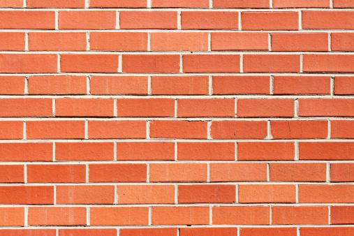 Brick Wall「Red brick wall background, copy space」:スマホ壁紙(2)