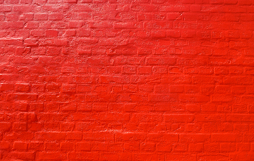 Wall - Building Feature「Red Brick Wall Background」:スマホ壁紙(15)