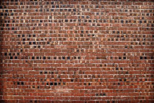 Brick Wall「Red brick wall texture」:スマホ壁紙(11)