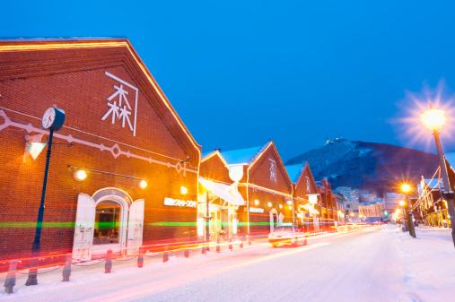 Hokkaido「red brick warehouse in Hakodate」:スマホ壁紙(7)