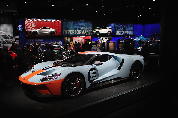 ビジネスと経済「The North American International Auto In Detroit Hosts Automakers Debuting Latest Vehicles」:写真・画像(10)[壁紙.com]