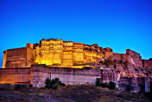 Jodhpur「Mehrangarh Fort, Jodhpur, India」:スマホ壁紙(2)