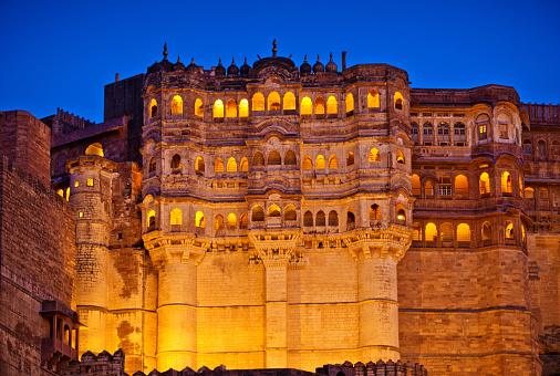 Jodhpur「Mehrangarh Fort, Jodhpur, India」:スマホ壁紙(4)