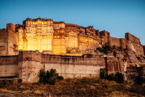 Jodhpur「Mehrangarh Fort in Jodhpur, India」:スマホ壁紙(6)