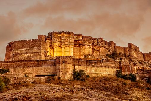 Rajasthan「Mehrangarh Fort in Jodhpur, Rajasthan」:スマホ壁紙(13)