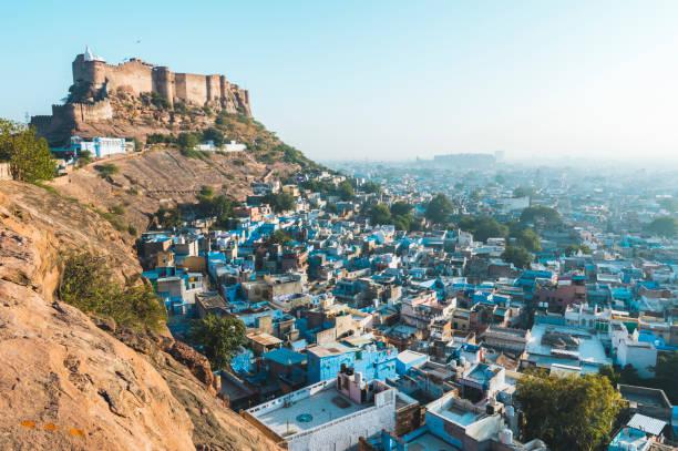 Mehrangarh Fort and Jodhpur:スマホ壁紙(壁紙.com)