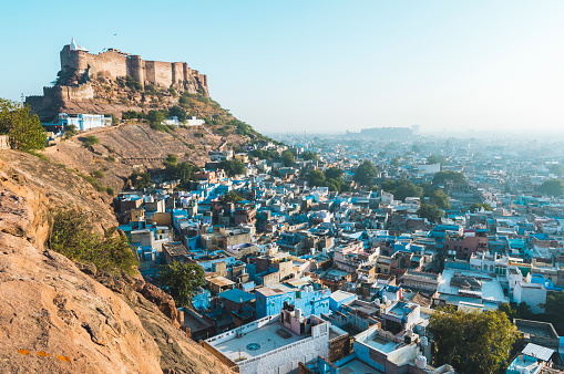 Jodhpur「Mehrangarh Fort and Jodhpur」:スマホ壁紙(17)