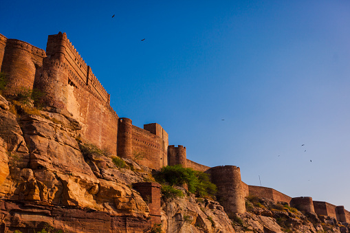 Rajasthan「Mehrangarh Fort in the Blue City of Jodhpur, Rajasthan, India」:スマホ壁紙(12)