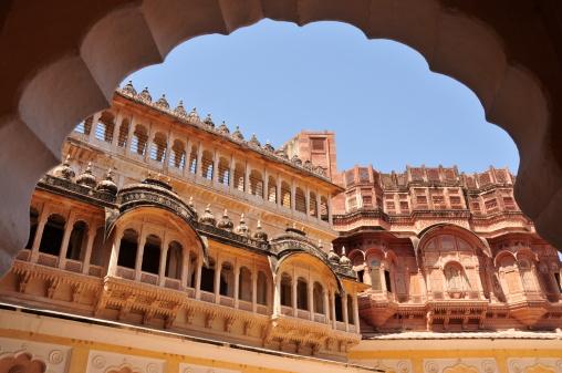 Rajasthan「Mehrangarh Fort,Jodhpur,Rajasthan,India.」:スマホ壁紙(3)