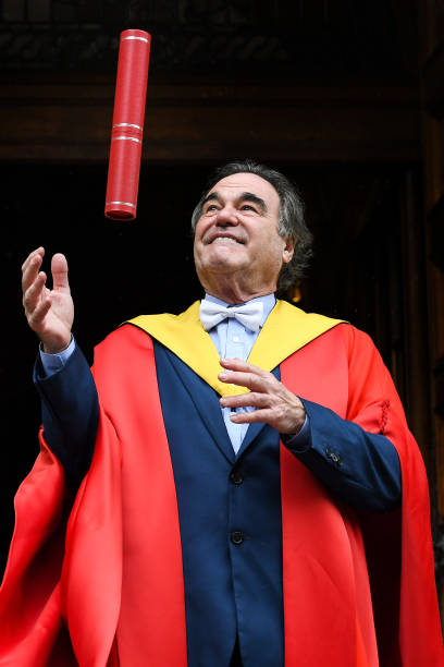 Film Director Oliver Stone Receives Honorary Degree From Edinburgh:ニュース(壁紙.com)
