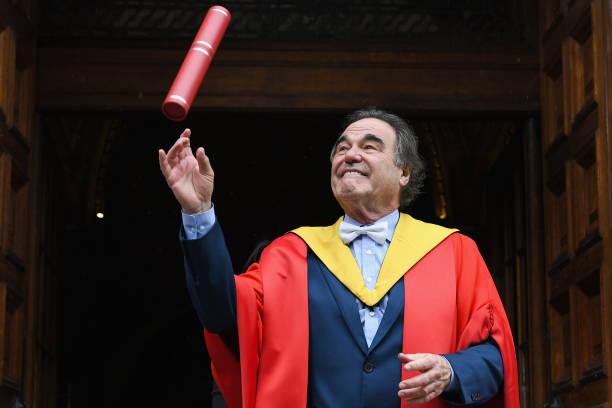 Film Director Oliver Stone Receives Honorary Degree From Edinburgh:ニュース(壁紙.com)