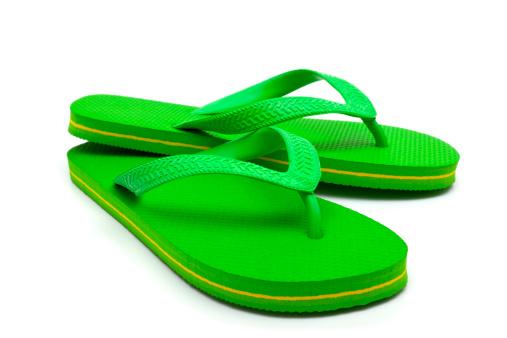 Flip-flop「Green flip flop」:スマホ壁紙(17)