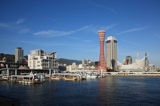 Japan「Japan, Hyogo, Kobe Harbor」:スマホ壁紙(7)