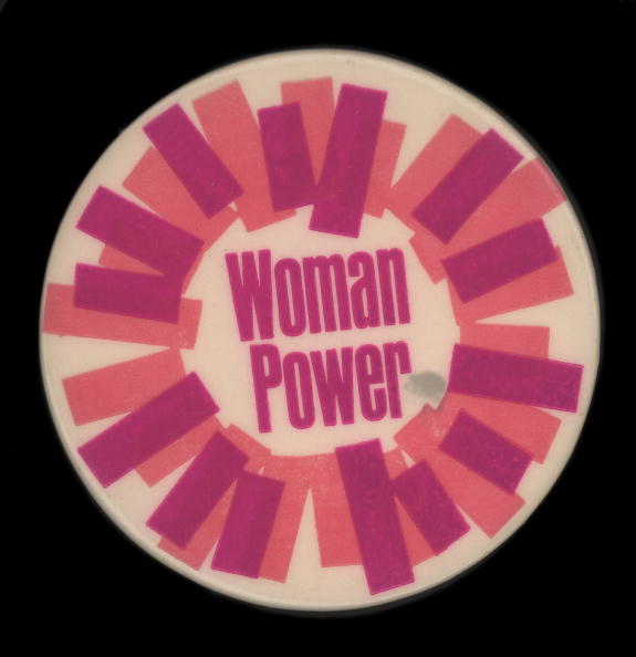 Pattern「'Woman Power' Button」:写真・画像(4)[壁紙.com]