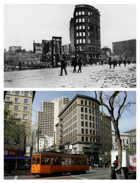 Cycle - Vehicle「The 1906 San Francisco Earthquake: Then And Now」:写真・画像(11)[壁紙.com]