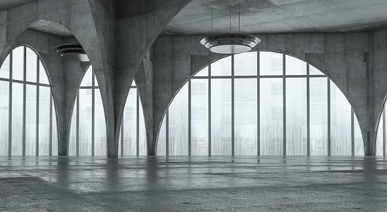 Concrete「Modern concrete background stage」:スマホ壁紙(16)