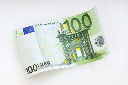 Number 100「Waved 100 Euro note」:スマホ壁紙(12)