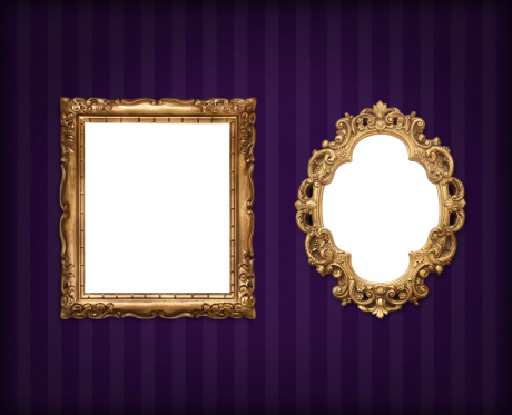19th Century「Frames on wallpaper」:スマホ壁紙(10)