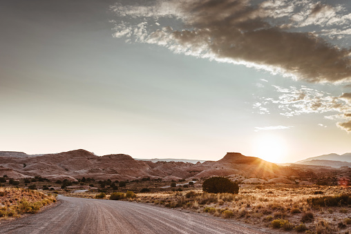 Back Lit「sunset view of the arches national park」:スマホ壁紙(17)