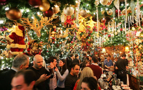 Christmas「Landmark New York Restaurant Gets Into Holiday Spirit」:写真・画像(16)[壁紙.com]
