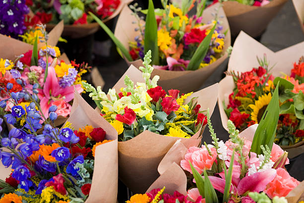 Outdoor fresh flower market:スマホ壁紙(壁紙.com)