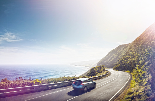 Scenics - Nature「Driving the Great Ocean Road」:スマホ壁紙(7)