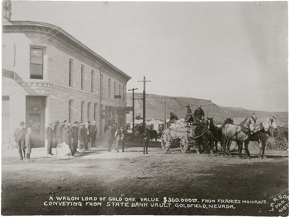 1900-1909「Goldfield, Nevada Armed Guards With Wagon Of Gold Ore」:写真・画像(7)[壁紙.com]