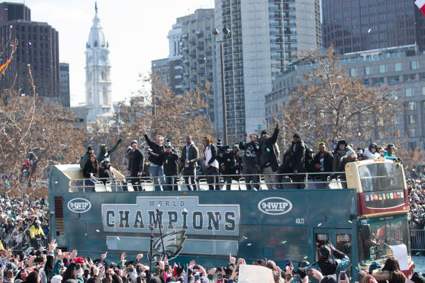 Super Bowl LII - Philadelphia Eagles Victory Parade:ニュース(壁紙.com)