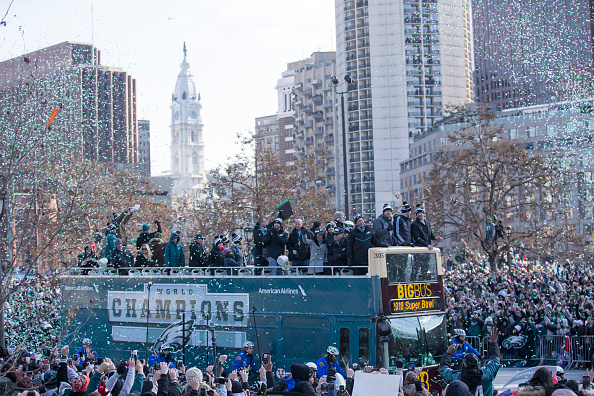 Philadelphia Eagles「Super Bowl LII - Philadelphia Eagles Victory Parade」:写真・画像(11)[壁紙.com]