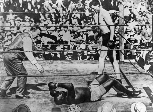 Boxer Jack Johnson「Johnson V  Willard」:写真・画像(13)[壁紙.com]