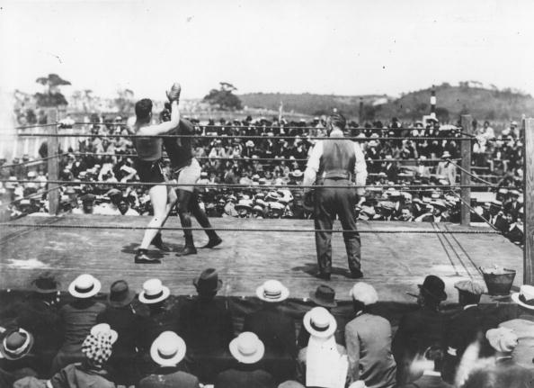 Boxer Jack Johnson「Johnson Vs Willard」:写真・画像(4)[壁紙.com]