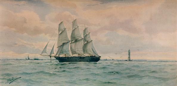 Physical Geography「'Seascape', c1895」:写真・画像(1)[壁紙.com]