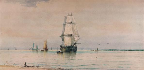 Horizon「'Seascape', c1896」:写真・画像(6)[壁紙.com]