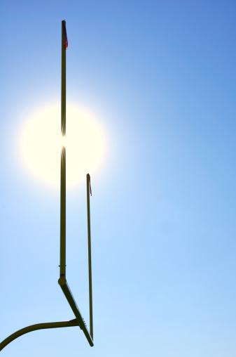Goal Post「Sun Behind Goal Posts on American Football Field」:スマホ壁紙(8)