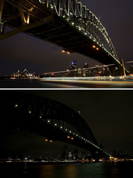 Lisa Maree Williams「Sydney Dims For Earth Hour」:写真・画像(12)[壁紙.com]