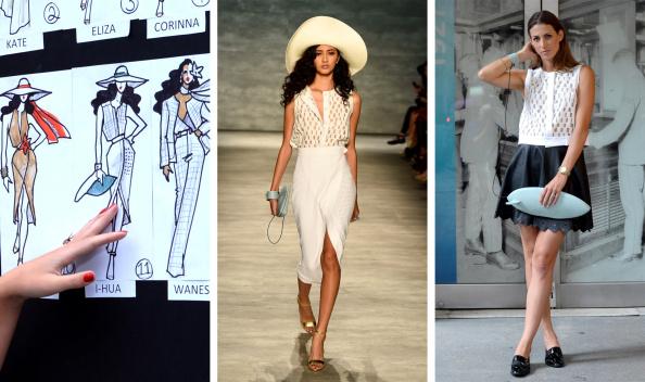 Womenswear「(FILE) GEORGINE - Sketch To Street Style - Mercedes-Benz Fashion Week Spring 2015」:写真・画像(15)[壁紙.com]
