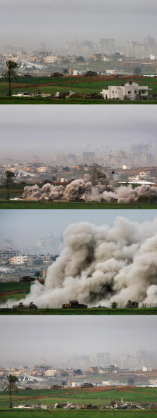 Composite Image「Israel Gaza Conflict Extends To Three Weeks」:写真・画像(16)[壁紙.com]