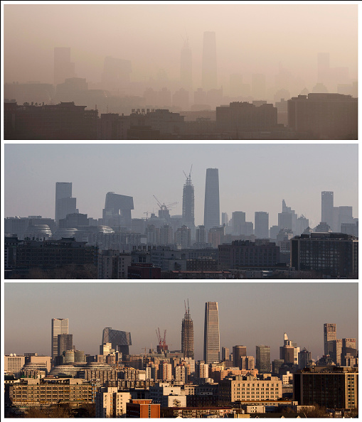 Beijing「Beijing Issues Red Alert On Air Pollution For The First Time」:写真・画像(11)[壁紙.com]
