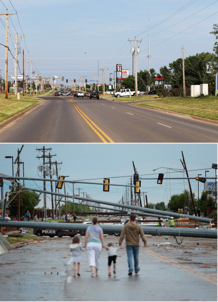 Composite Image「Moore, Oklahoma: One Year After Devastating Tornado Strike」:写真・画像(6)[壁紙.com]