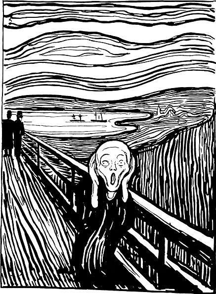 Lithograph「The Scream」:写真・画像(6)[壁紙.com]
