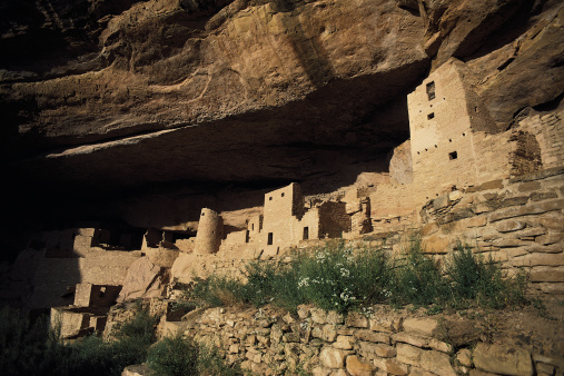 Cliff Dwelling「Cliff dwellings at Mesa Verde in Colorado」:スマホ壁紙(18)