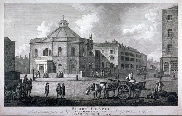 Methodist「Surrey Chapel, Blackfriars Road, Southwark, London, 1798. Artist: Anon」:写真・画像(15)[壁紙.com]