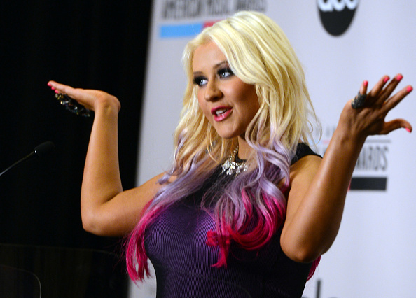 Christina Aguilera「The 40th Anniversary American Music Awards Nominations Press Conference」:写真・画像(14)[壁紙.com]