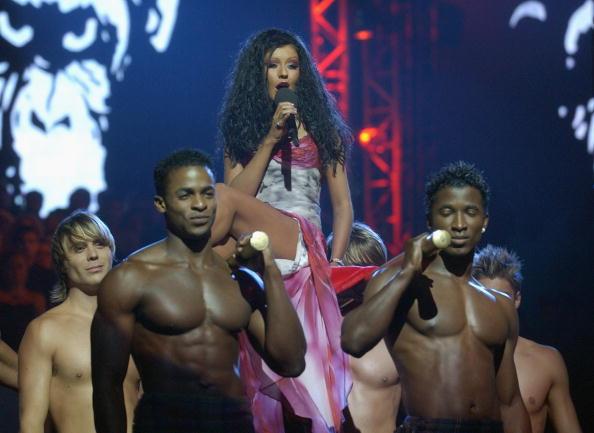 MTVヨーロッパ音楽賞「Christina Aguilera」:写真・画像(13)[壁紙.com]